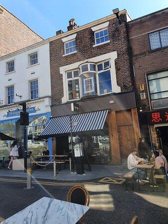 Cafe Tabac along Bold Street