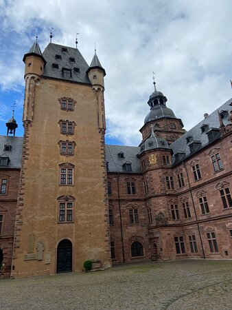 Schloss Johannisburg Innenhof