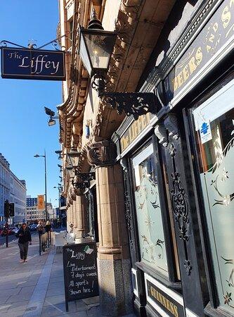 The Liffey Pub in Knowledge Quarter