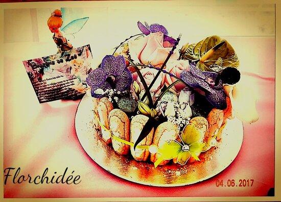 Gâteau floral (non Comestible)