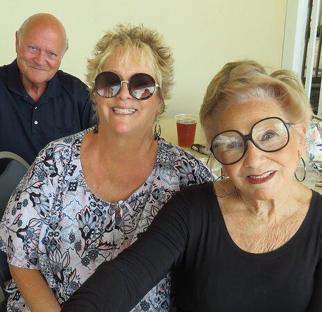 Tom, Janis, Gracie...last Happy Hour exclusively on The Veranda (The Pub)