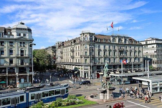 Exterior at Hotel Schweizerhof Zurich