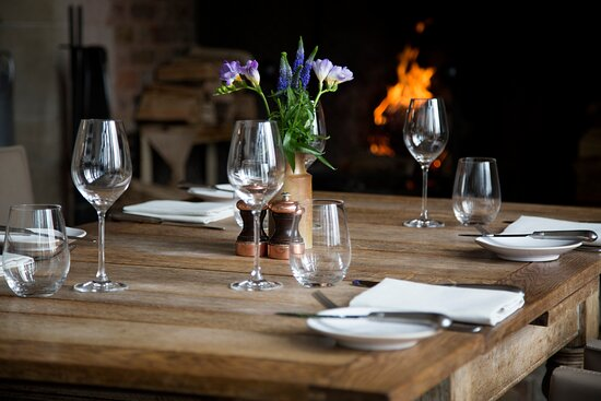 CPAThe Barn ,Table Set By The Fire (high Res )