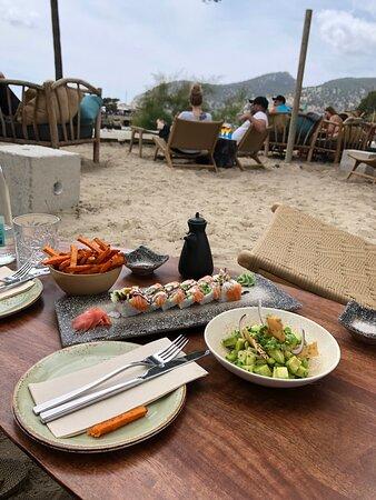 Camp De Mar, Spain: Healthy food