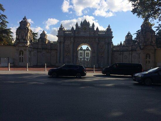 Istanbul, Turkije: Dolmabahçe Sarayı