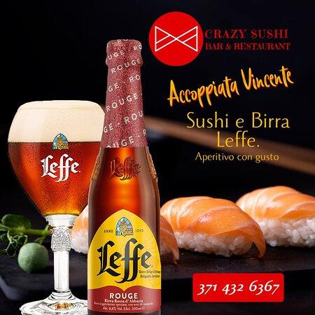 Sushi e buona birra