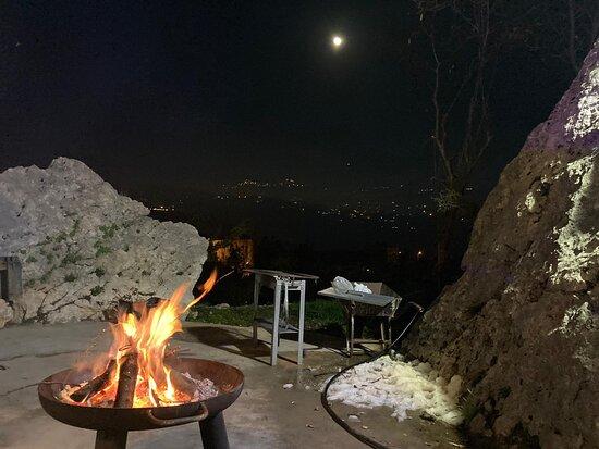 Faitroun, Lebanon: fire place