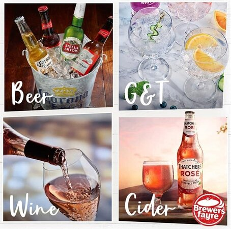 Our drinks range