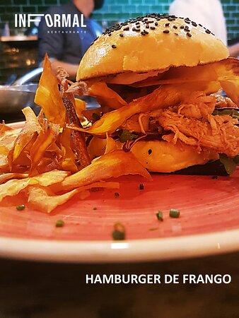 Hamburger de Frango