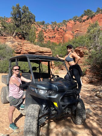 East Zion Crimson Canyon Hike & UTV Adventure: Off roading in the Canam