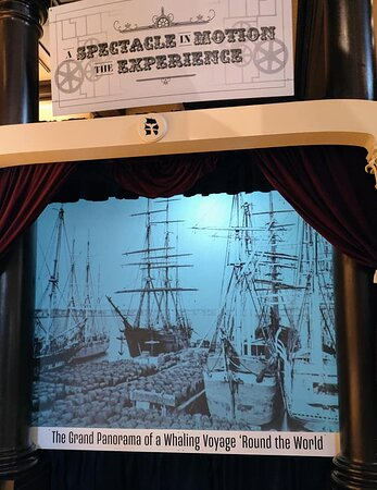9:00 am Timed-Entry Visit to New Bedford Whaling Museum: America's longest painting(1,275' x 8') showing the major world ports frequented by the whalers in 1848 in a moving panorama.
