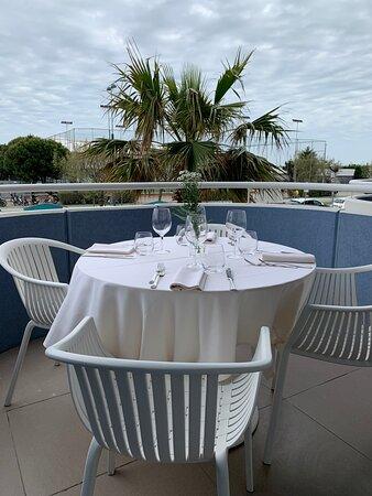 Tavoli in terrazza