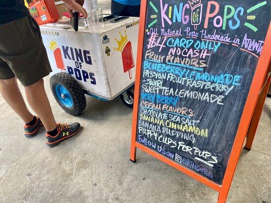 King of Pops Bar