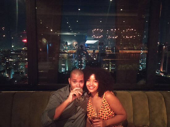 Comemoração de aniversário de namoro
