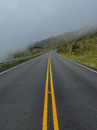 Road on Haleakala