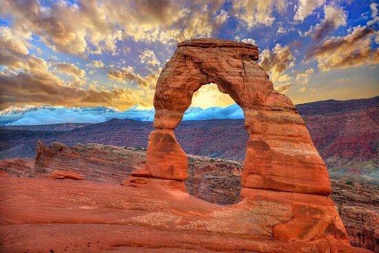Visite de 5 jours du Grand Canyon de l'ouest américain de Moab et des...