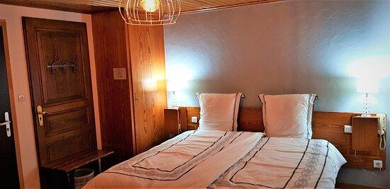 Chambre double ou twin avec douche