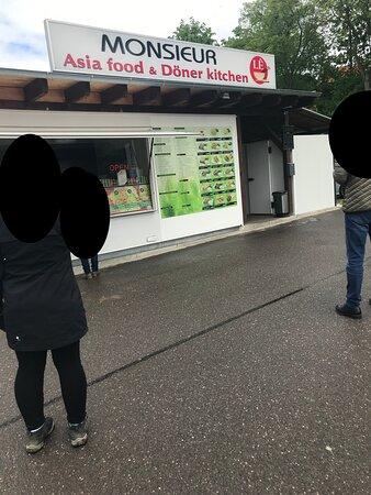 Monsieur Asia Food fastFood rýchle občerstvenie Wilkau Hasslau