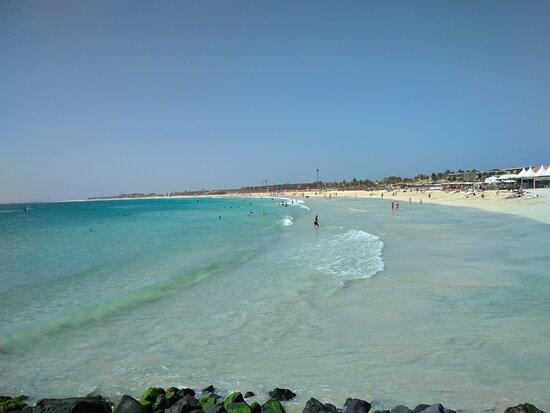 Spiaggia cittadina Isola di Sal Capo Verde