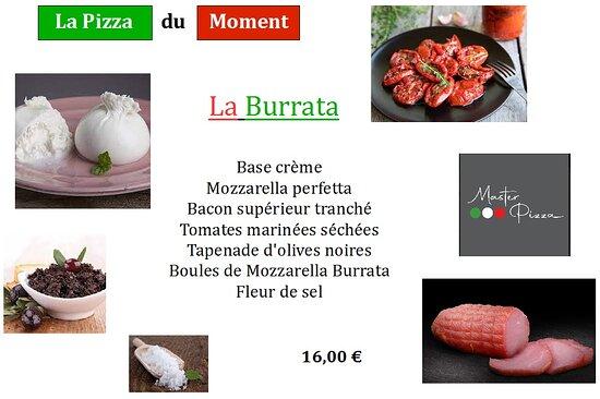 Bretteville-l'Orgueilleuse, France: La Pizza du moment