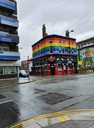Kitty's Showbar in Liverpool Commercial District