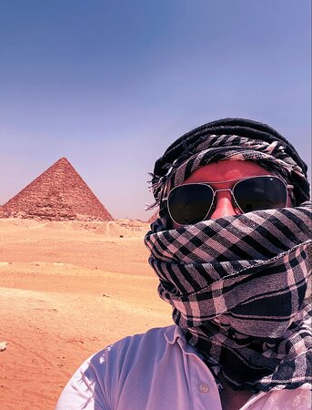 Just photos from an experience organised by the owner Mina for me. I've never been to Egypt before.