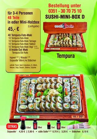 Sushi Mini Box B