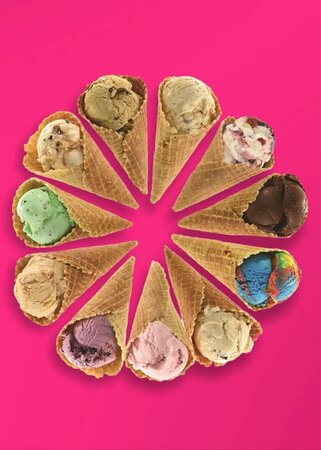 32 Original Recipe Flavors of Ice Crean made with the finest ingredients! Treat yourself today!