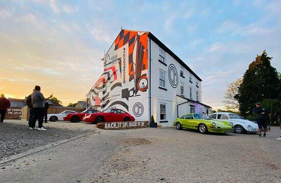 Ettington, UK: The building at sunset.