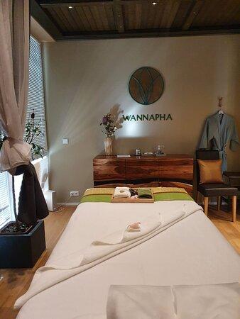 Unser Massage Bereich.