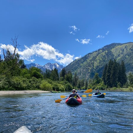 Nice float down the Icicle River