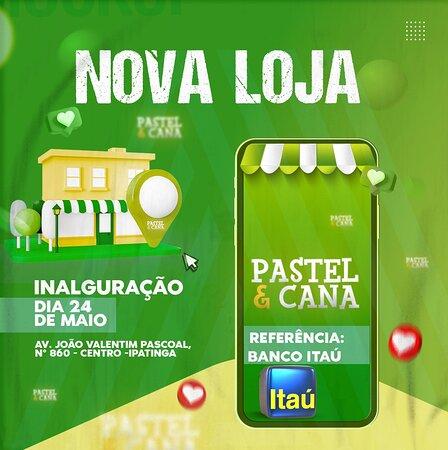 Gente estamos de loja nova! Rua João Valentim Pascoal 860, centro de Ipatinga!