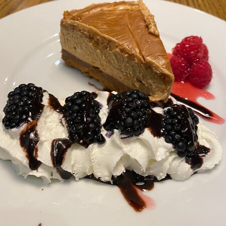 Biscoff cheesecake.