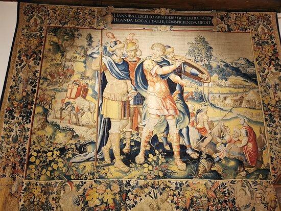 La coronacion de Tarquino Prisco.