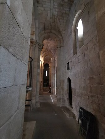 Interior de la Iglesia.