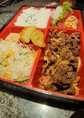 Beef Teriyaki Bento Set