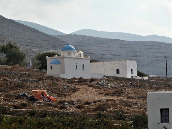 the Agios Pavlos chapel