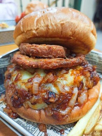 Burger Barbacoa, es brutal