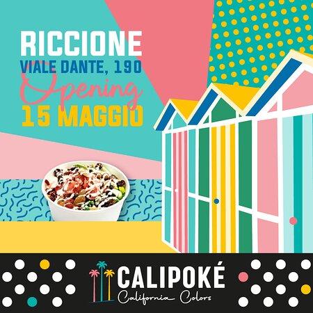 CaliPoké Riccione Opening 15 maggio