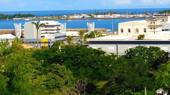 Noumea, New Caledonia:  ┌🏡🔹 MAISON DE L'INTENDANT MILITAIRE - HISTORICAL LANDMARK  🔹🏡┐ ■ 。■ Nouméa Cityscape ■ 。