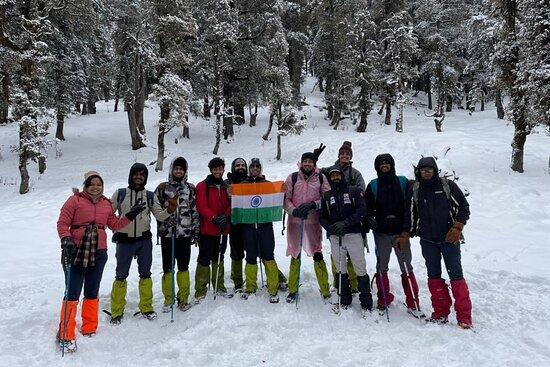 Early morning summit push - Picture of Mount Monks Adventures, New Delhi - Tripadvisor
