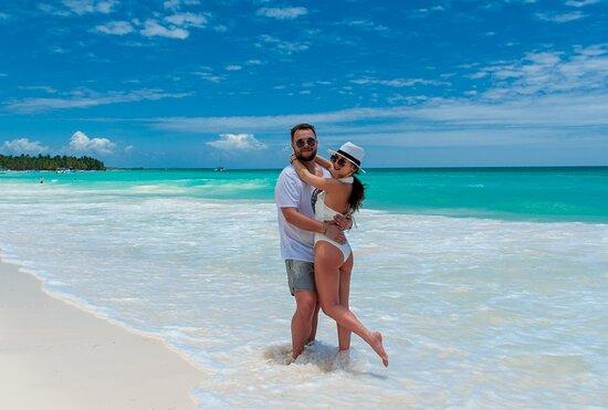 Профессиональная фотосессия на острове Саона. Компания Dominicana PRO