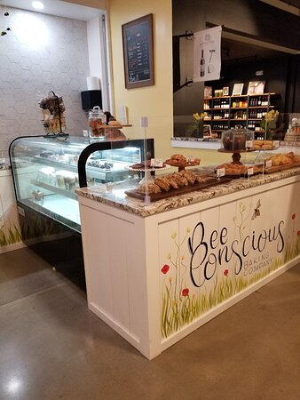 Bee Conscious bakery, small but tasty