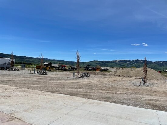 Back where construction in progress