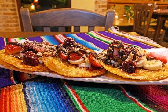 Sweet tacos con frutas..