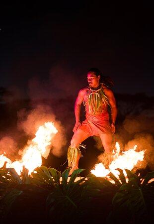 Ahi Lele Fire Show