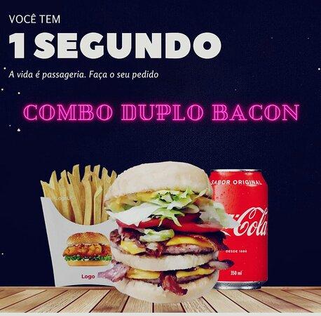 vc tem 1 segundo , a vida é passageira . faça seu pedido rs ... ohana burger hamburgueria - rio das ostras -rj