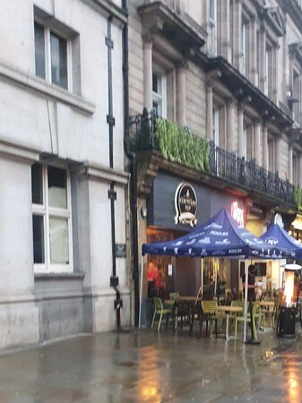 Sanctuary Tap in Liverpool Commercial District