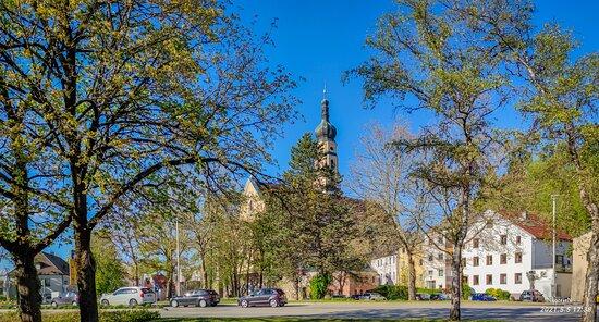 Grassau, Germany: Deggendorf. Mariä Himmelfahrt Kirche