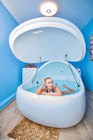 Sofia, Bulgaria: General wellbeing Scientific trials show that floating improves people's sense of wellbeing and overall happiness.